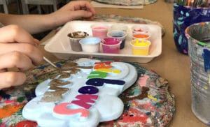 Pottery Mosaics Soap Making
