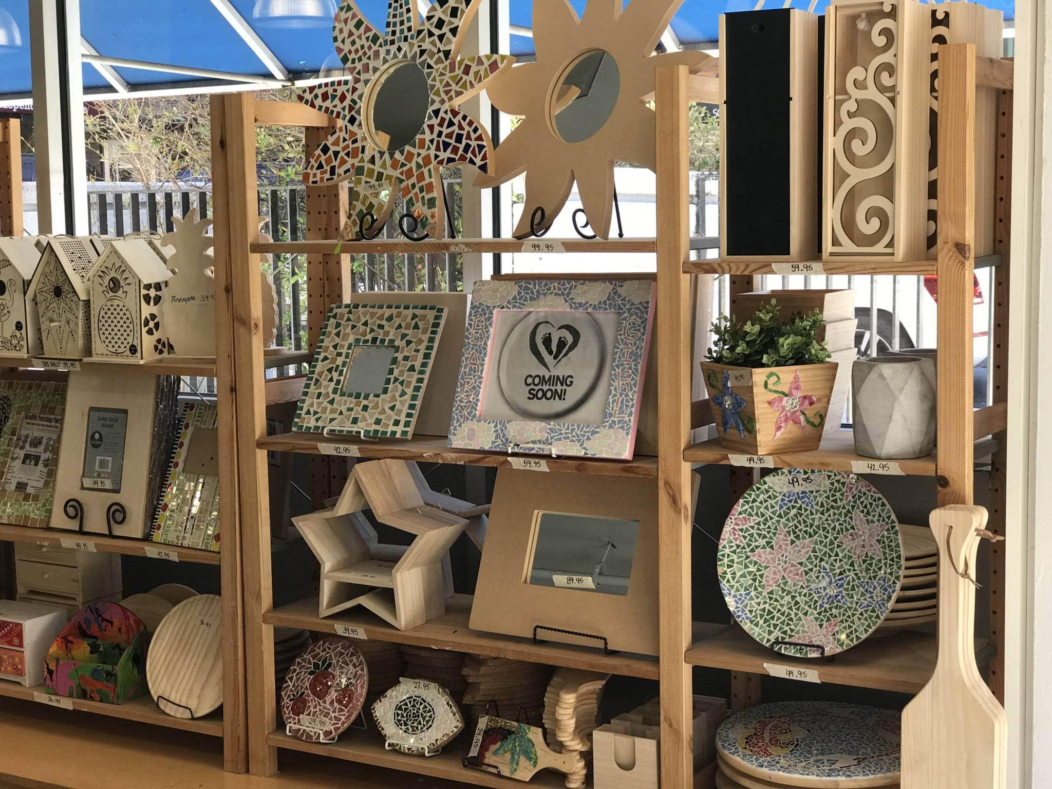 Make mosaics at little shop