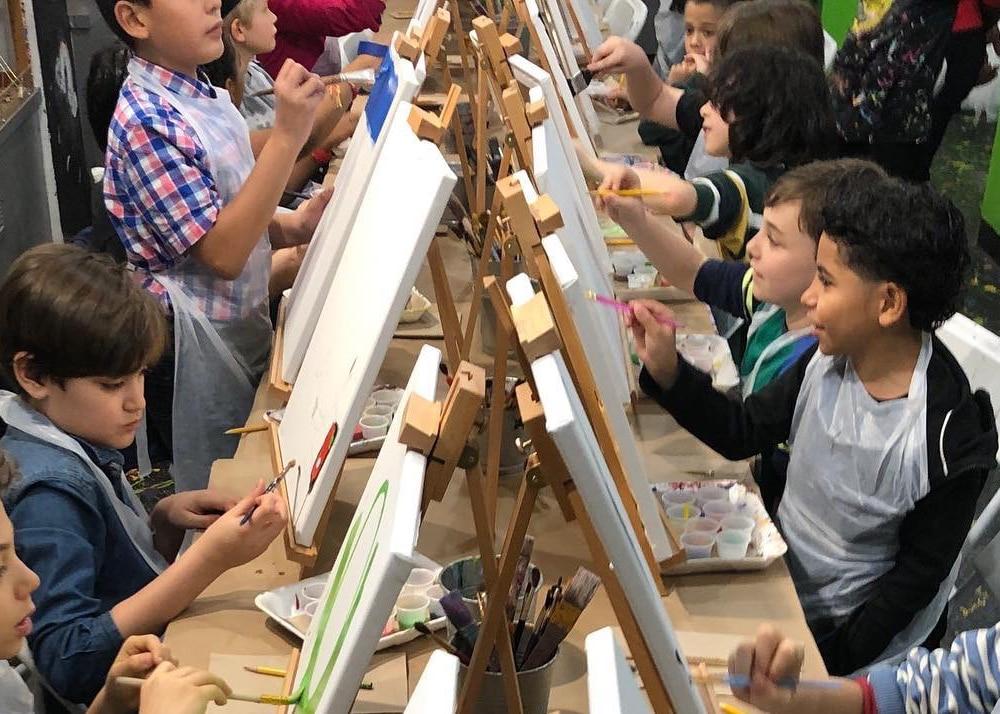 Painting Classes at Little Shop